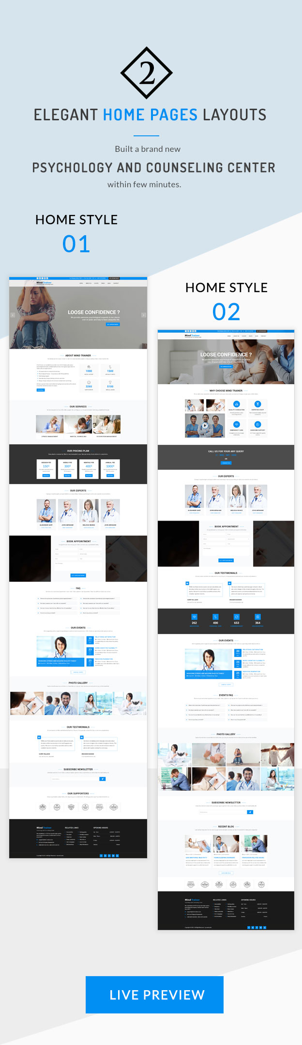 Mind Trainer - Psychology and Counseling Center HTML5 Template - 4